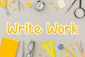 write work 1