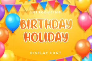 birthday holiday 1