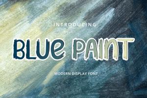 BLUE PAINT 1