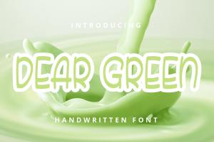 DEAR GREEN 1