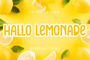 hallo lemonade 1
