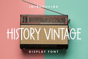 history vintage 1
