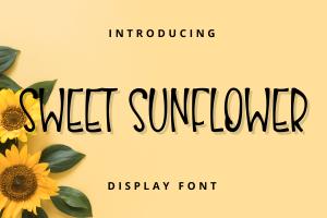 sweet sunflower 1