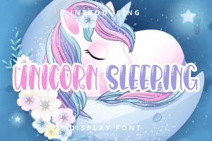 unicorn sleeping 1