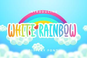 white rainbow 1