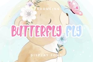 butterfly fly 1