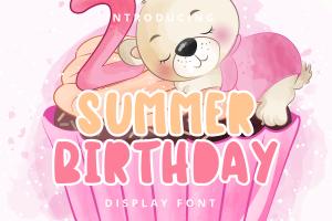 summer birthday 1